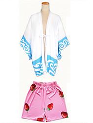 Cosplay Kostüme Cosplay Tops / Bottoms Kimonoo Inspiriert von Gintama Gintoki Sakata Anime Cosplay Accessoires Top Hosen UmhangSonstiges