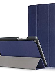 Недорогие -Кейс для Назначение Huawei Чехол планшетный случаи Твердый Кожа PU для