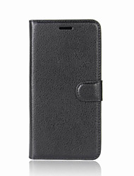 cheap -Case For OnePlus OnePlus 5T 5 Card Holder Wallet with Stand Flip Magnetic Full Body Cases Solid Color Hard PU Leather for One Plus 5