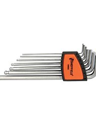 Steel shield metric extension ball head six angle wrench 7 sets /1 sets