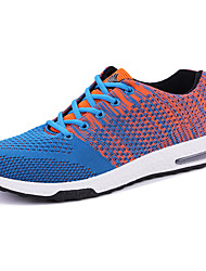 Men's Shoes Tulle PU Spring/Fall Summer Simple Casual Classic & Timeless Athletic Shoes Lace-up For Daily Sports Going out Casual/Daily