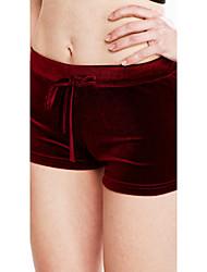 preiswerte -Damen Mittel Andere Solide Einfarbig Legging, Grün Schwarz Rote Rosa Gelb
