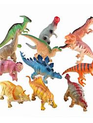 abordables -Dragons & Dinosaures / Figure de dinosaure Dinosaure Jurassique / Velociraptor / Triceratops Silicone / Plastique Garçon Enfant Cadeau