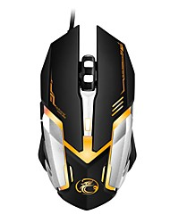 New Wired Gaming Mouse 6 Buttons Computer Mice Gamer USB Mouse 2400DPI Optical Mouse