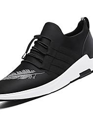 economico -Da uomo Scarpe Tessuto Primavera Autunno Comoda scarpe da ginnastica Footing Lacci Per Casual Nero Schermo a colori