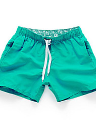 cheap -Men's Active Shorts Relaxed Pants - Solid Colored
