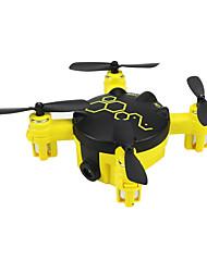 Drone FQ04 4 canaux 6 Axes Avec l'appareil photo 0.3MP HD Eclairage LED Mode Sans TêteQuadri rotor RC Télécommande 1 x Manuel de