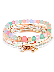 cheap -Women's Strand Bracelet Jewelry Luxury Natural DIY Magnetic Therapy Resin Circle Jewelry Party Special Occasion Gift Costume Jewelry