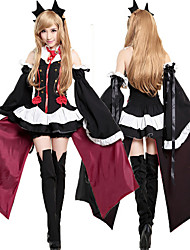 cheap -Inspired by Seraph of the End Krul Tepes Anime Cosplay Costumes Cosplay Suits Dresses Cosplay Tops/Bottoms Headpiece Gloves Cosplay