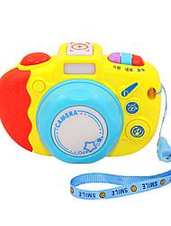 Недорогие -Аксессуары для кукольного домика Игрушечные камеры Музыка Пластик Детские Подарок