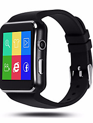 cheap -HHY X6 Curved Screen Smart Watch Pedometer Camera Sleep Monitoring Alarm Music Playback Sedentary Reminder