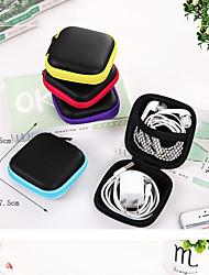 Range Ecouteurs / Enrouleur de Câble Organisateur de Bagage Etanche Portable Résistant à la poussière Rangement de Voyage pour Vêtements