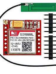 abordables -Sim800l ipex quad-band gprs gsm module de rupture 3g antenne