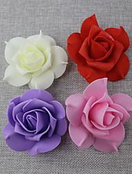 economico -10 pezzi 1 Ramo Polistirolo Plastica Rose Fiori da tavolo Fiori Artificiali