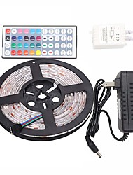 cheap -Led Strip Lights Kit  Waterproof 5050 5M 150leds RGB 30leds/m with 44key Ir Controller and 3A Power Supply