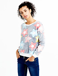 cheap -Women's Pullover - Geometric, Print