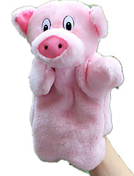 cheap -Finger Puppets Puppets Stuffed Toy Toys Pig Animal Cute Animals Lovely Plush Tactel Children's Pieces
