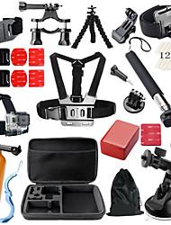 Недорогие -На открытом воздухе / Складной Для Экшн камера Gopro 6 / Все / Gopro 5 Катание на лыжах / Велосипедный спорт / Велоспорт / Универсальный