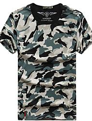 Homens Camiseta de Trilha Secagem Rápida Camiseta Blusas para Verão M L XL XXL XXXL