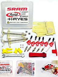 cheap -Bicycle hydraulic Disc Brake Bleed Kit tool For AVID ELIXIR JUICY CODE Formula HYGIA USAGI HAYES J3 J5 J7 Formula R1 RX K24 K18 Professional Kit