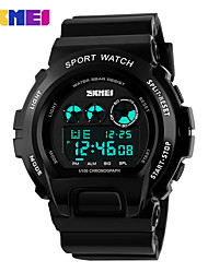 Men's Sport Watch Dress Watch Smart Watch Fashion Watch Wrist watch Unique Creative Watch Digital Watch Chinese Digital LCD Calendar