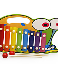 cheap -Xylophone Building Blocks Dollhouse Accessory Baby Music Toy Fun Wooden Kid's Boys' Gift
