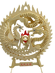 Недорогие -3D пазлы Дракон Веселье Дерево Классика Детские Универсальные Игрушки Подарок