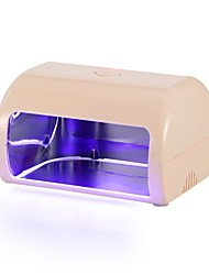 cheap -MINI 9W LED Professional Nail Dryer Fingernail Toenail Gel Curing Lamp(pink)