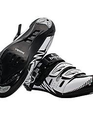 cheap -BOODUN® Road Bike Shoes Outdoor Cycling Black / Red / Dark Green Men's
