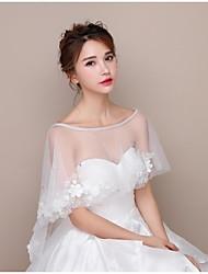Недорогие -кружевные тюль свадебные женские обертки капоты классический женский стиль