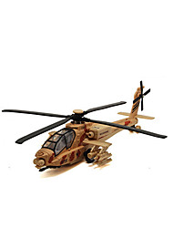 cheap -Toys Model Building Kit Helicopter Toys Simulation Plane / Aircraft Helicopter Metal Alloy Pieces Unisex Gift