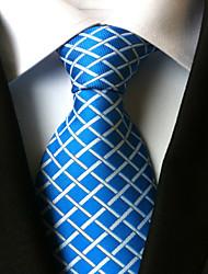 abordables -Homme Cravate Cravate Pied-de-poule