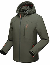 Men's Hiking Jacket Breathable water-resistant Anti-Mosquito Sweat-Wicking Jacket Top for Running/Jogging Spring/Fall Winter Men XXXL