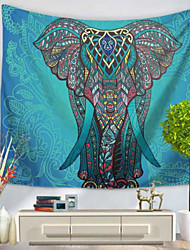 cheap -Wall Decor 100% Polyester Modern Wall Art, Wall Tapestries of 1
