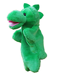 cheap -Puppets Hand Puppet Stuffed Toy Toys Dinosaur Cute Large Size Lovely Plush Fabric Plush Children's Pieces