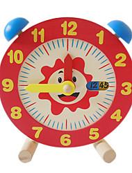 Недорогие -Деревянные часы Часы Образование Мальчики Девочки Игрушки Подарок