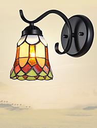 AC 100-240 60 E26/E27 Rustico/lodge Pittura caratteristica for LED,Luce verso il basso Lampade a candela da parete Luce a muro