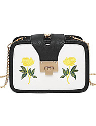 cheap -Women's Women Bags Spring All Seasons PU for Casual White Black Red