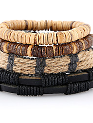 New Hand Woven Genuine Leather Bracelet