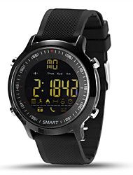 cheap -Men's Smart Watch Chinese Digital Calendar / date / day Chronograph Heart Rate Monitor Water Resistant / Water Proof Remote Control / RC