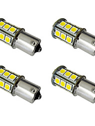 4PCS 1156  Ba15s / BAY15D 1157 2.5W LED car light bulb 24 SMD 5050 taillight / brake light / turn light DC 12V white/warm white