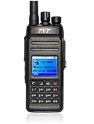 abordables -Tyt md398 10w ip67 dmr walkie talkie digital impermeable uhf 400-470mhz radio portátil