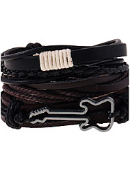 cheap -The New Woven Leather Leather Bracelets