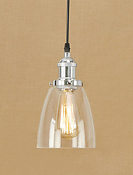 Pendant Lights Modern/Contemporary Retro for Mini Style Glass Lampshade Living Room Bedroom Dining Room