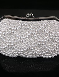 cheap -Women Bags PC Evening Bag Bead for Spring/Fall All Seasons White