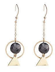 Drop Earrings Earrings Set Women's Girls' Circle Triangle Boll  Euramerican Personalized  Movie Jewelry Party Dailywear Statement Jewelry