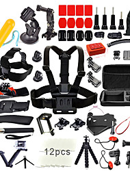 cheap -Accessory Kit For Gopro 67 in 1 Outdoor Multi-function Water-Repellent For Action Camera Gopro 6 All Gopro Xiaomi Camera Gopro 4 Gopro 4