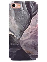 Per iPhone 8 iPhone 8 Plus Custodie cover Fantasia/disegno Custodia posteriore Custodia Effetto marmo Resistente PC per Apple iPhone 8