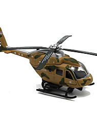 Недорогие -Наборы для моделирования Вертолет Летательный аппарат Вертолет моделирование Универсальные Игрушки Подарок / Металл