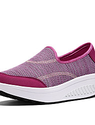cheap -Women's Athletic Shoes Crib Shoes Fabric Customized Materials Spring Fall Daily Sports Outdoor clothing Fitness & Cross TrainingSplit